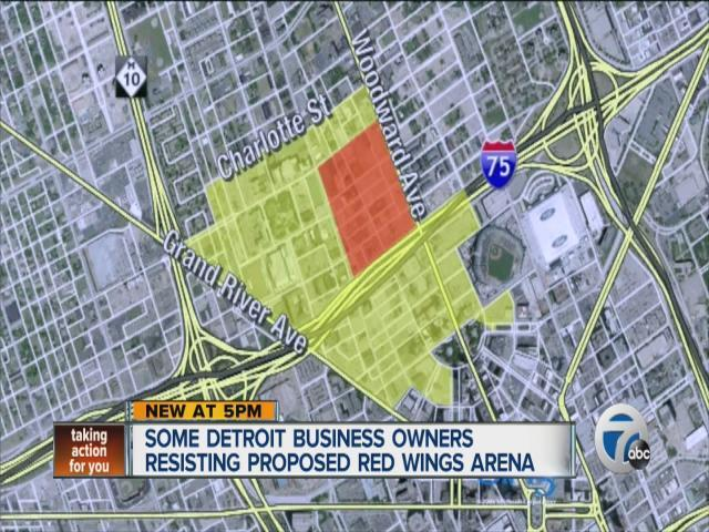 Some Detroiters oppose new arena [Video]
