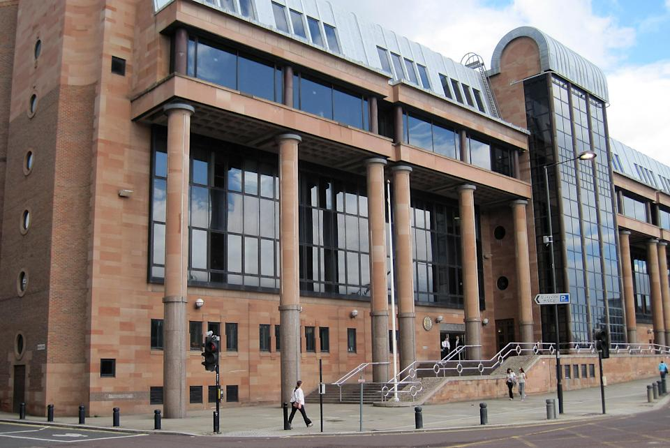 A general view of Newcastle Crown court, where the inquest into the death of Raoul Moat is being held.