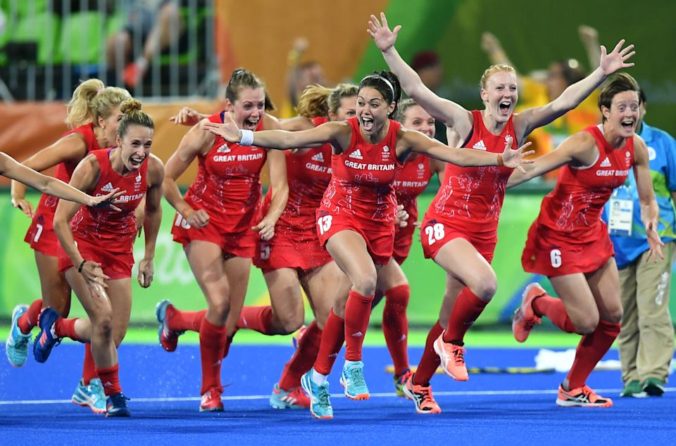 Kerry coached the GB women's hockey team to a famous gold at the Rio Olympics. (MANAN VATSYAYANA/AFP via Getty Images)
