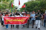Myanmar has been rocked by daily protests since the military ousted civilian leader Aung San Suu Kyi and seized power on February 1