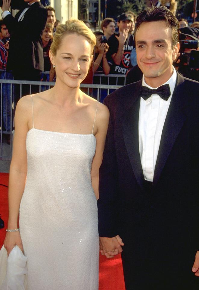 """The <em>Simpsons </em>actor accompanied his love during her<em>As Good as it Gets</em>winning streak, for which she took home trophy after trophy — including the SAG Award. After five years of dating, they got married in 1999 but <a href=""""https://abcnews.go.com/Entertainment/story?id=111843&page=1"""">broke up after 17 months of marriage</a>."""