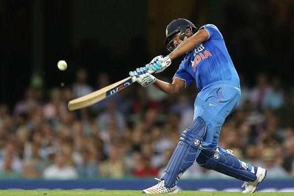 Rohit Sharma loves to hit the ball out of the park