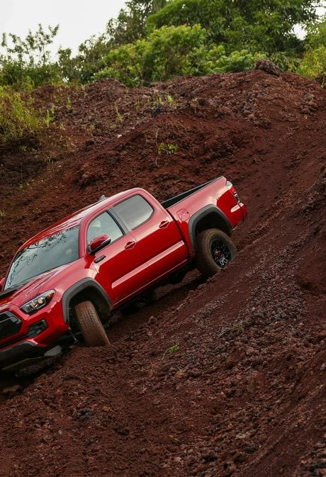 In TRD Pro spec, Toyota's pickup hardly sacrifice refinement for massive gains in capability.