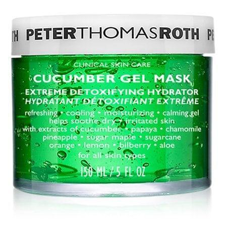 <p>Cool off and calm irritation with the <span>Peter Thomas Roth Cucumber Gel Face Mask</span> ($31, originally $52).</p>