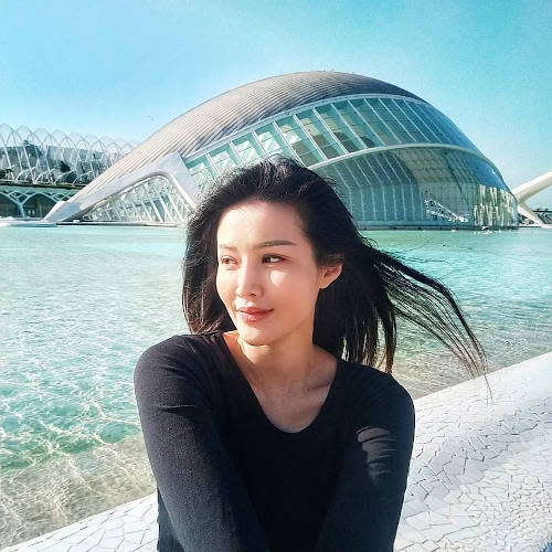 The actress has been studying in Valencia