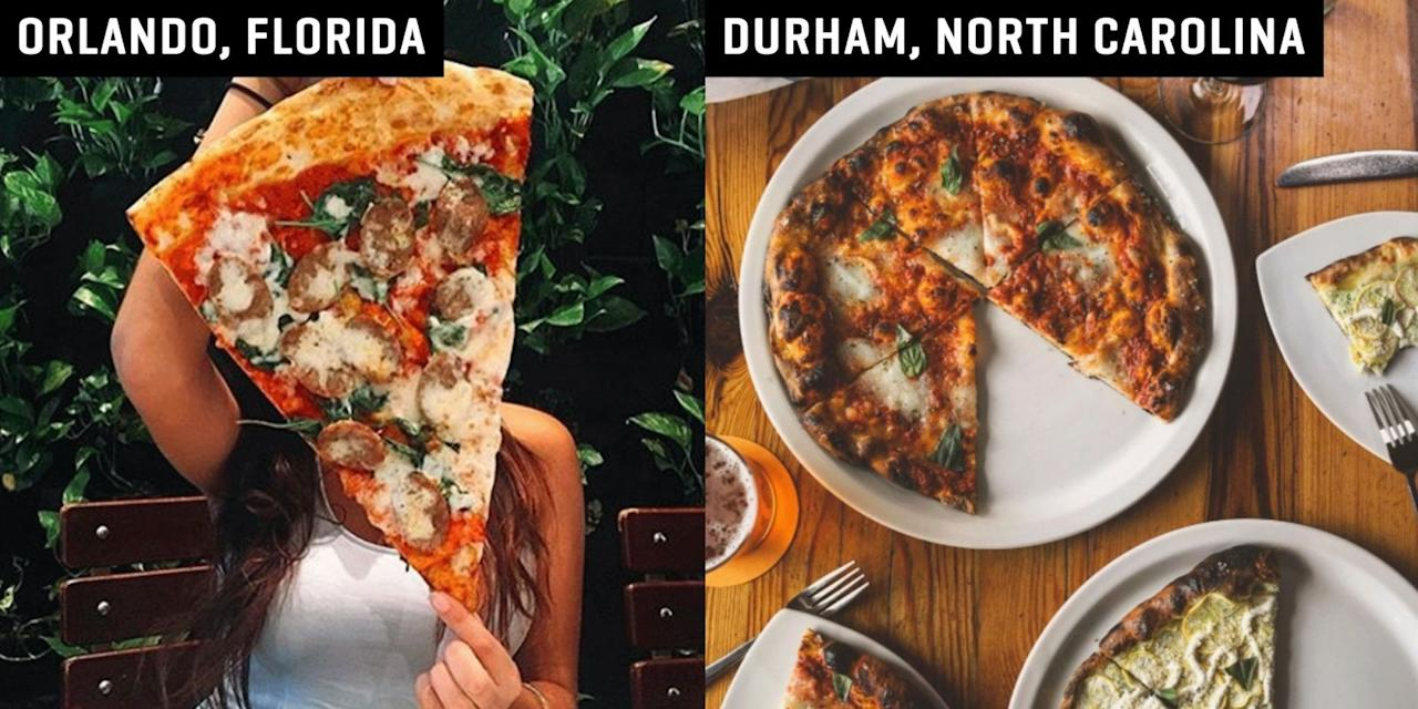 50 College Town Pizzerias That Serve The Most Delicious Pies