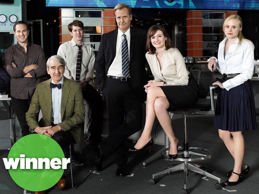 "<b>WINNER: ""The Newsroom"" (HBO) </b><br><br>This just in: Smart summer TV is not an oxymoron. HBO's hyper-literate look inside a cable TV newsroom (courtesy of Oscar winner Aaron Sorkin) debuted strong this month, with 2.1 million viewers tuning in. Now that may not measure up to broadcast or basic cable ratings, but on HBO, it's a hit. As far as debuts go, it topped ""True Blood"" and finished just behind ""Game of Thrones"" -- pretty good ratings company. And HBO has already renewed the drama for a second season, so we'll be watching Jeff Daniels as loose-cannon anchor Will McAvoy for many ""News Nights"" to come."