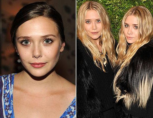 """Elizabeth Olsen, who emerged as a breakout star at this year's Sundance Film Festival for her roles in """"Martha Marcy May Marlene"""" and """"Silent House,"""" is the younger sis of the famous Olsen twins, Mary-Kate and Ashley."""