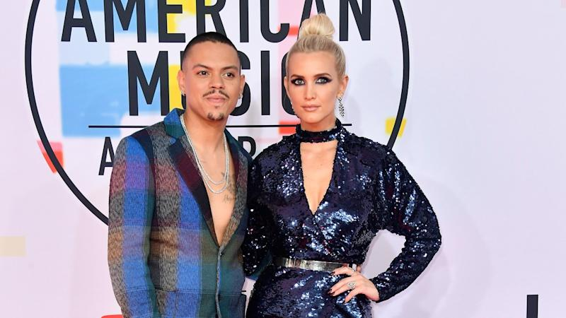 fd6790322e56 Ashlee Simpson & Evan Ross Tease Tour & Give Update on Jessica Simpson's  Pregnancy (Exclusive)