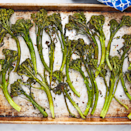 """<p>We all know by now that <a href=""""https://www.delish.com/uk/cooking/recipes/a28934240/holiday-roasted-vegetables-recipe/"""" rel=""""nofollow noopener"""" target=""""_blank"""" data-ylk=""""slk:roasting vegetables"""" class=""""link rapid-noclick-resp"""">roasting vegetables</a> makes them the best version of themselves. Tenderstem tops get extra crispy while the stems stay nice and tender. It's an easy, perfect, healthy side dish to accompany any meal. </p><p>Get the <a href=""""https://www.delish.com/uk/cooking/recipes/a34926880/broccolini-recipe/"""" rel=""""nofollow noopener"""" target=""""_blank"""" data-ylk=""""slk:Roasted Tenderstem Broccoli"""" class=""""link rapid-noclick-resp"""">Roasted Tenderstem Broccoli</a> recipe. </p>"""