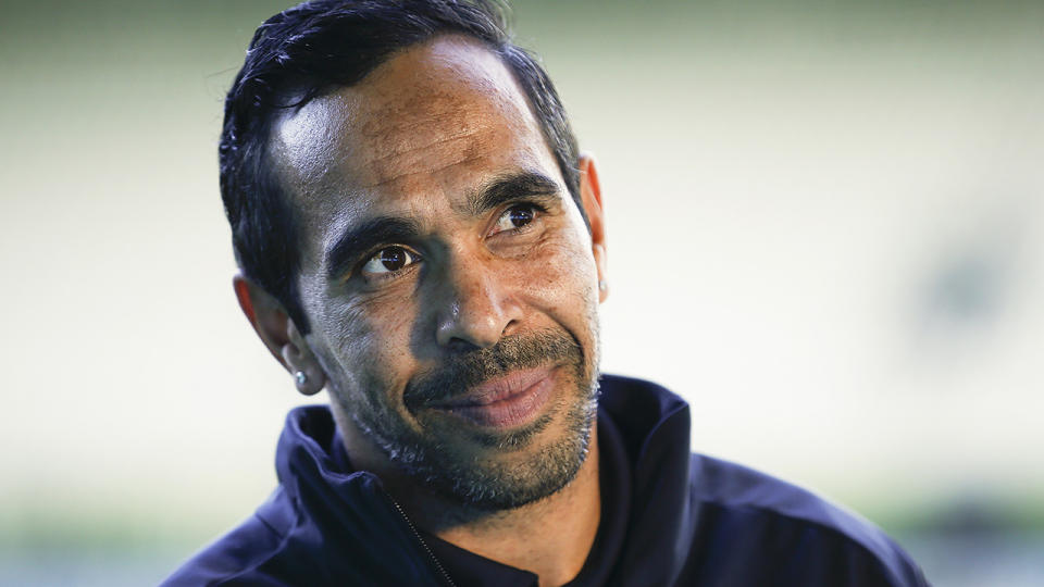 Carlton and AFL fan favourite Eddie Betts has long been a target of racist abuse. (Photo by Daniel Pockett/Getty Images)