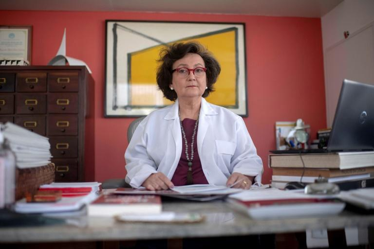 Pulmonologist Dr Margareth Dalcolmo has become a media star in Brazil for her straight-talking updates on the coronavirus that is ravaging the country