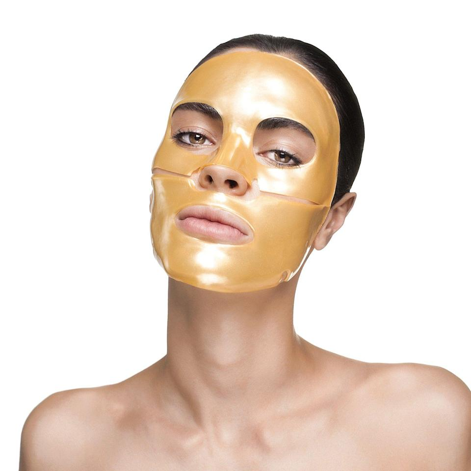 "<p><strong>Nano Gold Repair Collagen Face Mask</strong></p><p>knesko.com</p><p><strong>$150.00</strong></p><p><a href=""https://knesko.com/product/gold-face-mask/"" rel=""nofollow noopener"" target=""_blank"" data-ylk=""slk:Shop Now"" class=""link rapid-noclick-resp"">Shop Now</a></p><p>If nanogold and collagen-spiked masks are your thing (or you've been curious about them), get 20% off discovery kits on November 25th, 25% off purchases over $35 on Black Friday, and 20% off the entire site on Cyber Monday. </p>"
