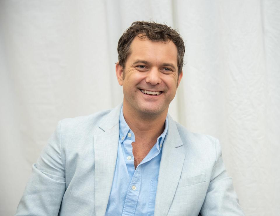 Joshua Jackson is pictured on the set of Little Fires Everywhere in 2019