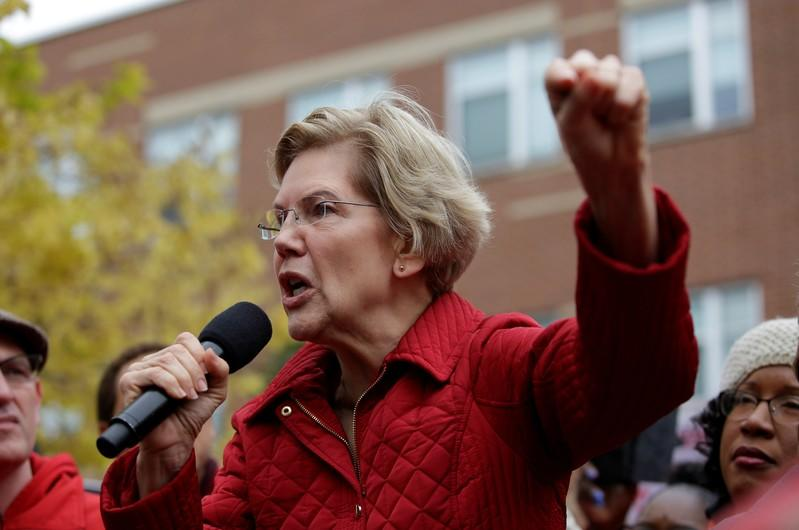 Wall Street investors slam Warren's policies