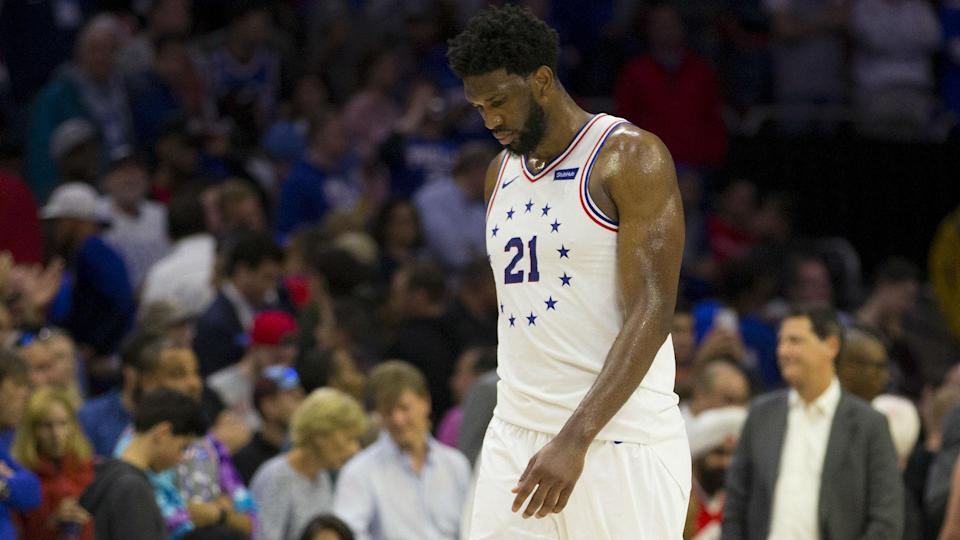 Philadelphia 76ers All-Star Joel Embiid was not feeling 100 per cent during Sunday's 101-96 defeat to the Toronto Raptors.