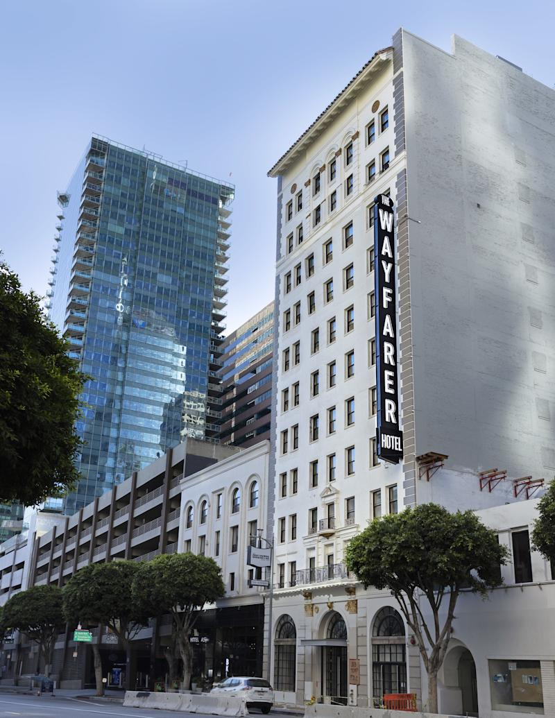 The Wayfarer, a new hotel in Downtown Los Angeles.