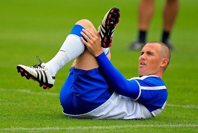 Kenny Miller scored a sublime opener for Rangers in the 79th minute against Aberdeen (AFP Photo/Graham STUART)