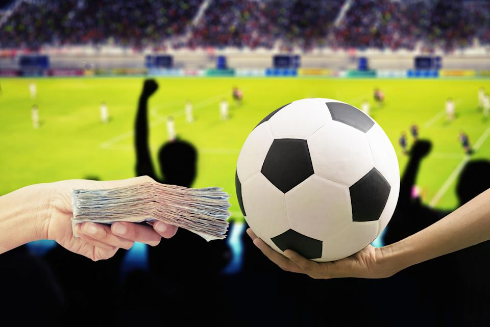 football and money ,game