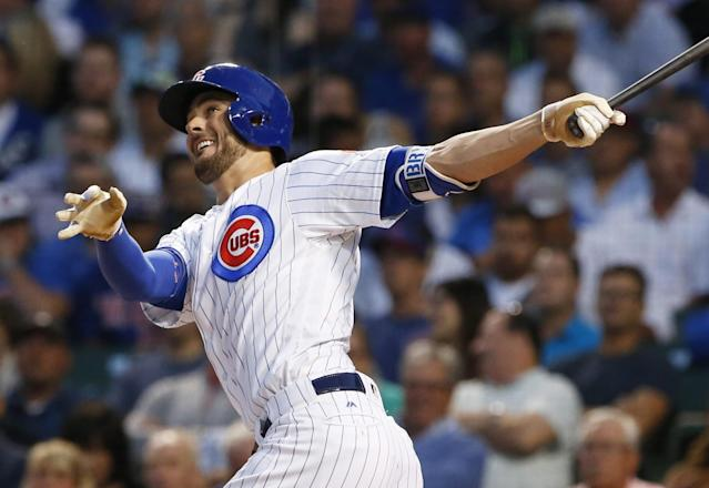 <p>The Blue Jays don't get to visit Wrigley Field often, and this time they get to go toe-to-toe against the champs. (AP) </p>