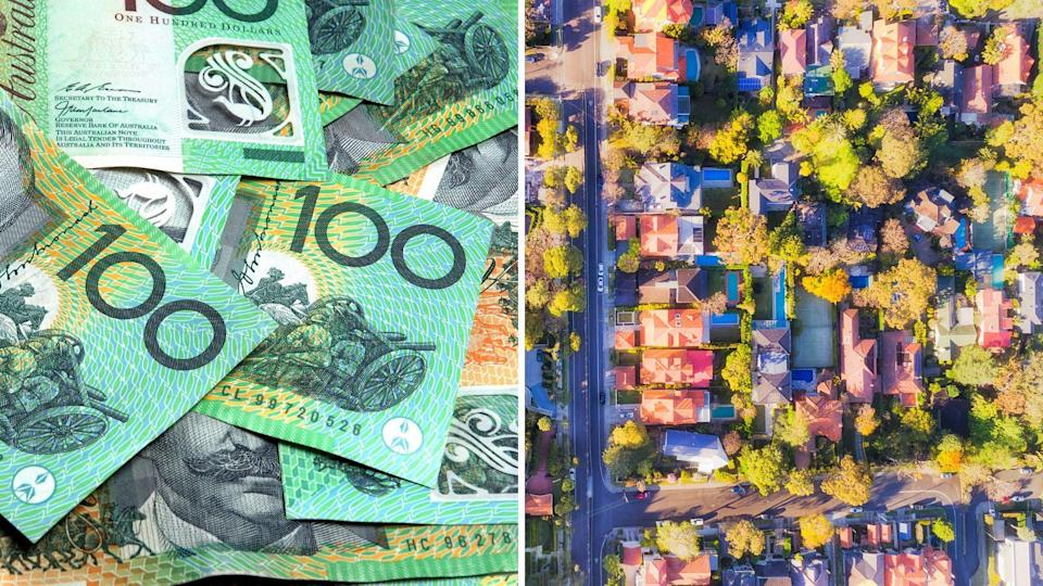 Photo of $100 bills and Australian property: Australians are under mortgage stress, but there are ways to escape the trap.