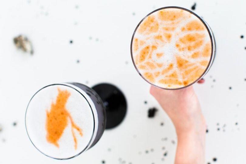 "<p>If pumpkin carving awakened your inner artist, you can show off your stencil skills with these Angostura bitter cocktails.</p><p><em><a href=""https://sugarandcloth.com/creepy-cocktails-spooky-stencil-cocktails/"" rel=""nofollow noopener"" target=""_blank"" data-ylk=""slk:Get the tutorial from Sugar and Cloth »"" class=""link rapid-noclick-resp"">Get the tutorial from Sugar and Cloth »</a></em></p><p><a class=""link rapid-noclick-resp"" href=""https://www.amazon.com/dp/B08CGM16VQ/?tag=syn-yahoo-20&ascsubtag=%5Bartid%7C10055.g.3718%5Bsrc%7Cyahoo-us"" rel=""nofollow noopener"" target=""_blank"" data-ylk=""slk:SHOP HALLOWEEN STENCILS"">SHOP HALLOWEEN STENCILS</a></p>"