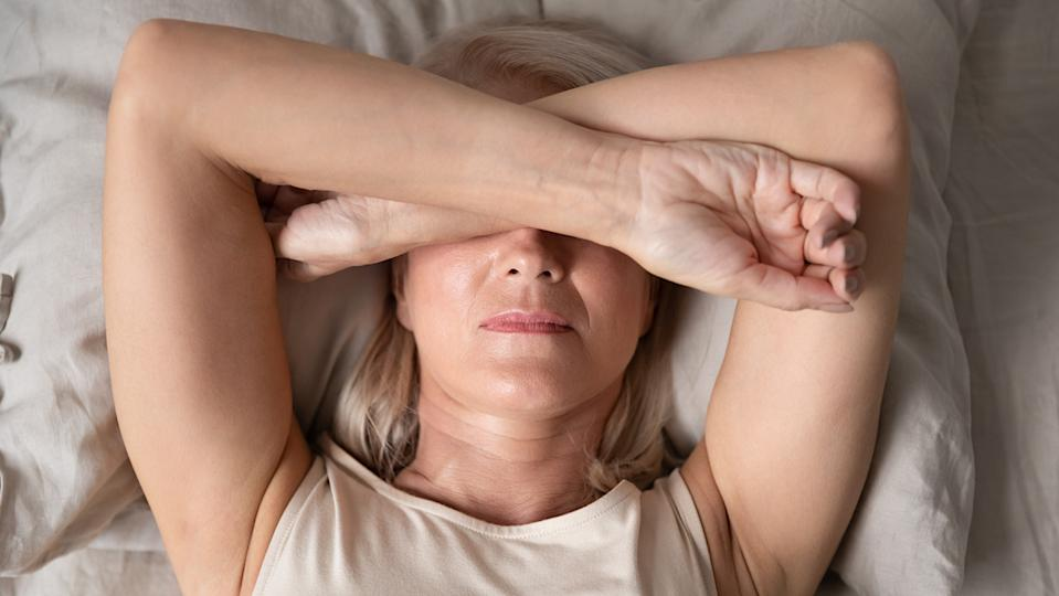 Insomnia is one of the 34 symptoms that you might be menopausal