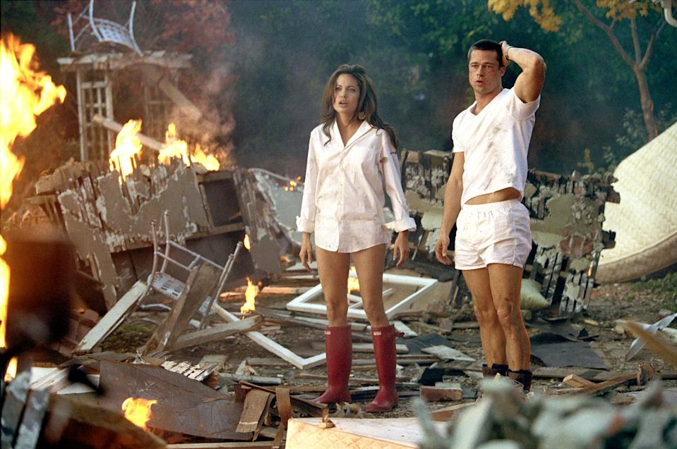 Mr. & Mrs. Smith. Image via IMDB