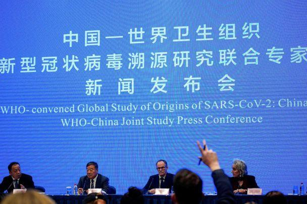 PHOTO: Peter Ben Embarek, a member of the World Health Organization (WHO) team tasked with investigating the origins of the coronavirus disease (COVID-19), attends the WHO-China joint study news conference at a hotel in Wuhan, China, Feb. 9, 2021. (Aly Song/Reuters, FILE)