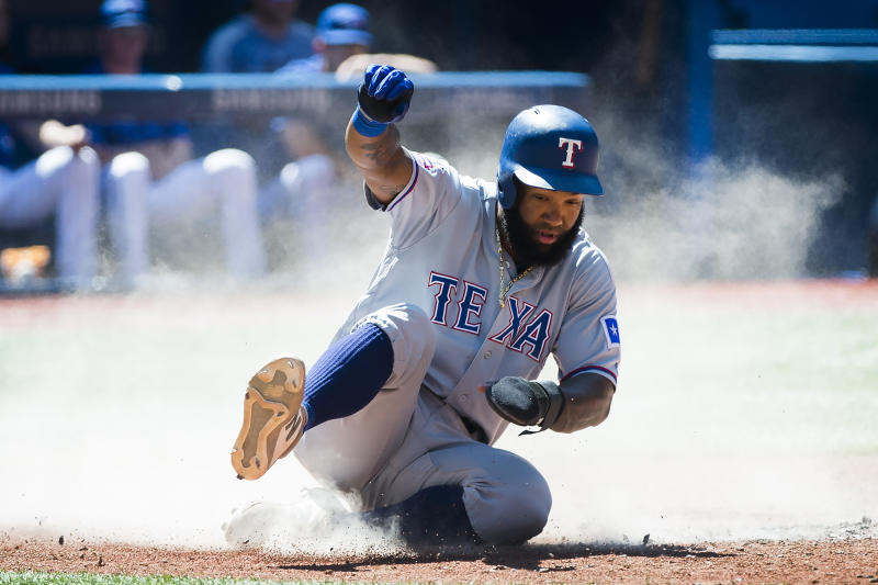 Andrus gets 4 hits, Rangers beat Jays 7-3 to avoid sweep