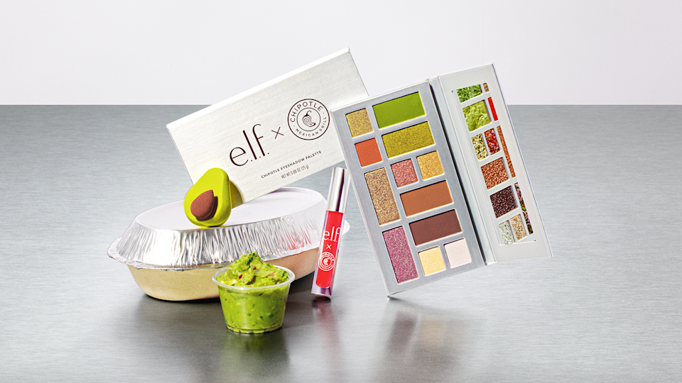 Chipotle and e.l.f Beauty collaborate to drop a new limited-edition makeup collection, Chipotle eyeshadow palette (Courtesy: e.l.f Beauty).