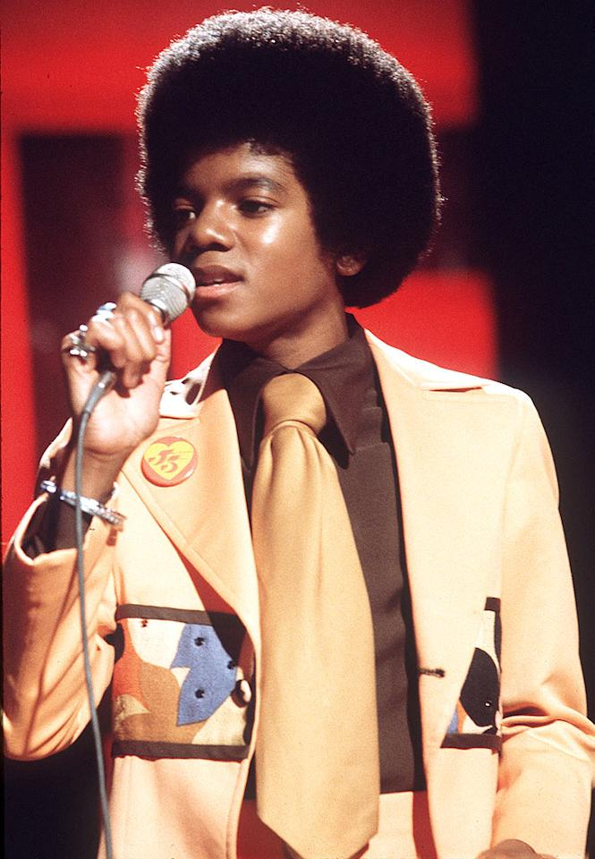 "In remembrance of Michael Jackson, take a trip down memory lane with these pics from the King of Pop's past. Young Michael burst on the scene at age of 11 as a member of the Jackson 5. Anwar Hussein/<a href=""http://www.wireimage.com"" target=""new"">WireImage.com</a> - January 1, 1974"