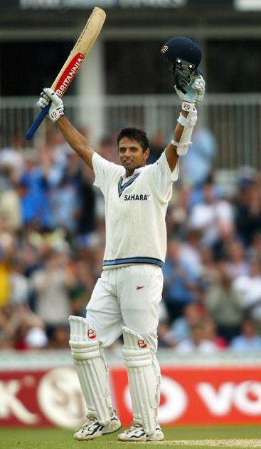 Dravid emerged out of Sachin Tendulkar's shadow in 2002 as he established himself as India's premier Test batsman with 1357 runs, including five centuries at an average of 59 from 16 matches. Four of those centuries (3 against England and one against West Indies) were scored in consecutive innings.