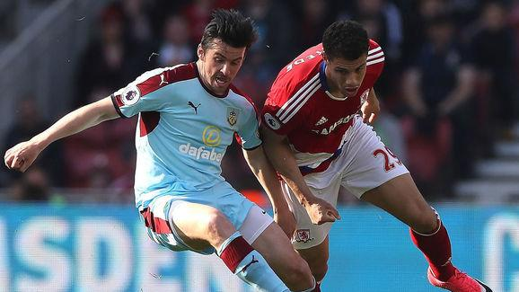 Middlesbrough v Burnley - Premier League