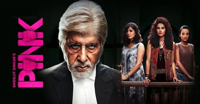 Pink Movie Review, Ratings, Star Cast, Story, Songs, Actors | My India