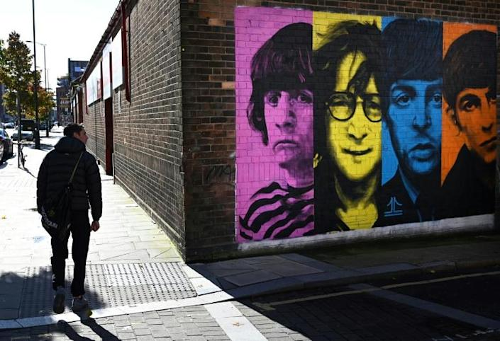 """The Beatles' supposed breakup album """"Let It Be"""" was actually recorded before they went in the studio for """"Abbey Road"""" (AFP/Paul ELLIS)"""
