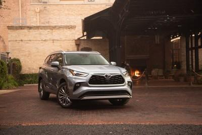 Toyota S Fourth Generation 2020 Highlander Redesigned From
