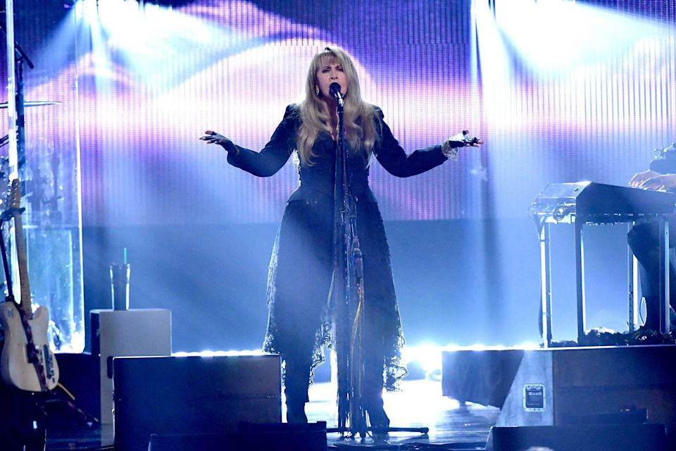 "<p><strong>Stevie Nicks </strong></p><p>While she penned arguably one of the biggest songs, like, ever, ""Landslide,"" while looking out into the mountains in Colorado, Stevie Nicks actually hails from Phoenix, Arizona. A voice like no other, she's one of the first women in the music biz to prove that she's just as powerful with her band Fleetwood Mac, or on her own. She's the only woman to have been inducted into the Rock and Roll Hall of Fame <em>twice</em>.</p>"