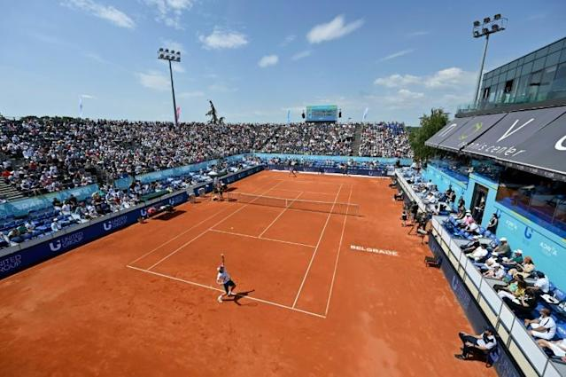 Full house at the event in Belgrade (AFP Photo/Andrej ISAKOVIC)