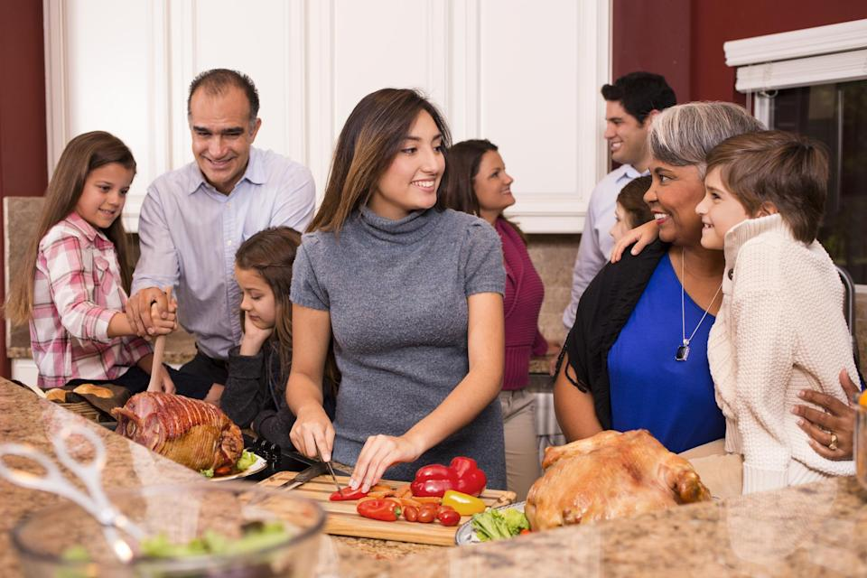 """<p>If you're hosting your first Thanksgiving, you may want to invite everyone you've ever met, cook everything yourself and try out a fancy new recipe on the big day. But those things are all among <a href=""""https://www.theactivetimes.com/home/15-common-mistakes-thanksgiving-hosts-make?referrer=yahoo&category=beauty_food&include_utm=1&utm_medium=referral&utm_source=yahoo&utm_campaign=feed"""" rel=""""nofollow noopener"""" target=""""_blank"""" data-ylk=""""slk:the most common mistakes Thanksgiving hosts make"""" class=""""link rapid-noclick-resp"""">the most common mistakes Thanksgiving hosts make</a>. Other blunders include common kitchen catastrophes, including making everything on Thanksgiving Day itself, forgetting appetizers and not taking time out to enjoy the day for yourself.</p>"""