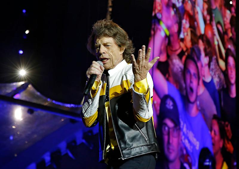 Mick Jagger and the Rolling Stones perform July 7 at Gillette Stadium in Foxborough, Massachusetts. (Photo: Matthew J. Lee/The Boston Globe via Getty Images)