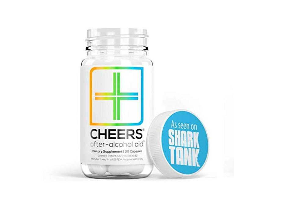 The Cheers (formerly Thrive) Hangover Cure beats out the hangover symptoms before they hit. (Photo: Amazon)