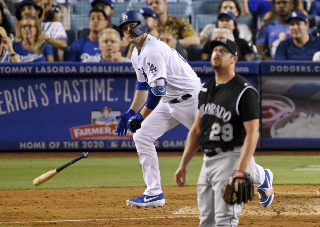 Home Runs 2020.Dodgers Rally On Hrs By Martin Freese To Beat Rockies 5 3