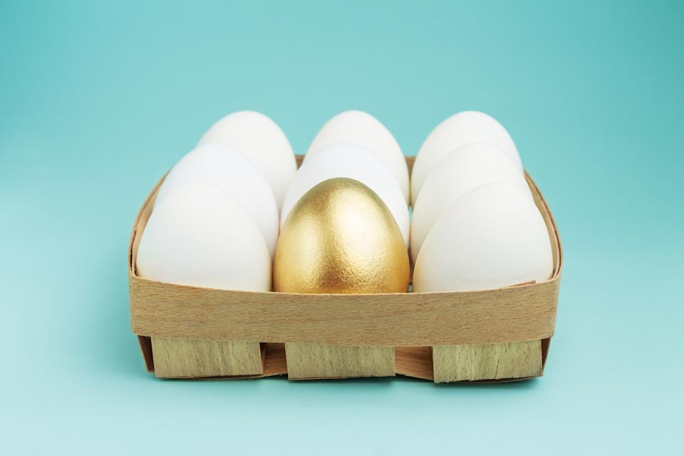 "Uniqueness concept.""I actually think the Roth IRA is like the golden egg,"" Sun Group Wealth Partners managing director Winnie Sun recently told Yahoo Finance Live. (Photo: Getty)"