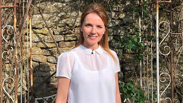 Geri Horner will teach English on the new CBBC show. (BBC)