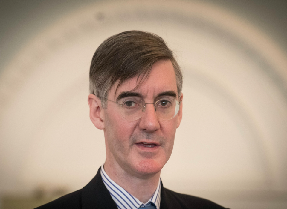 Jacob Rees-Mogg warned the prime minister she faces a Tory rebellion (Picture: PA)
