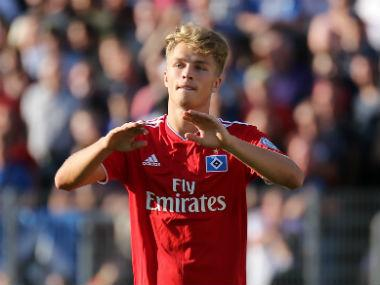 Bundesliga: Bayern Munich confirm signing of teenager Jann-Fiete Arp from Hamburg for reported 2.5 million