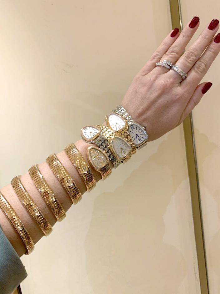 "London-based Threads Styling has seen a spike in interest for special pieces such as Bulgari jeweled watches. <span class=""copyright"">(Threads Styling)</span>"
