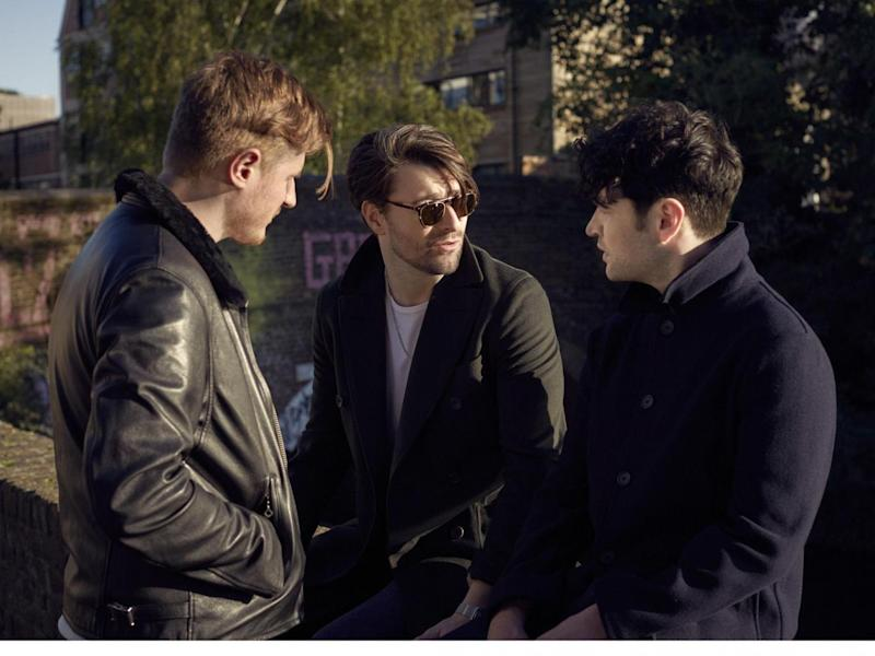 Moores, Fray and Campbell will perform at Old Trafford in Manchester later this month