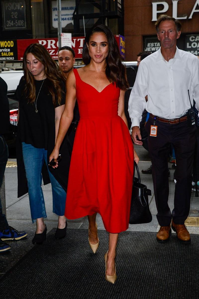 Meghan Markle has beaten Kate Middleton on the Lyst Year in Fashion review. Photo: Getty Images